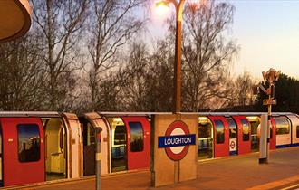 Loughton Station on the Central Line