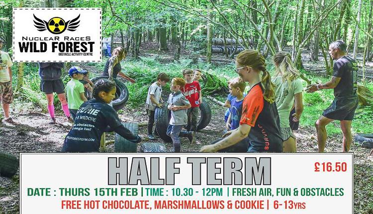 Wild Wood kids activities for half term.