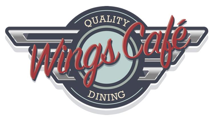 Wings Café logo